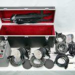 コメット ストロボセット ジェネレーター CB-2400a ストロボ2灯 CLX-25H パラソル付属 動作品